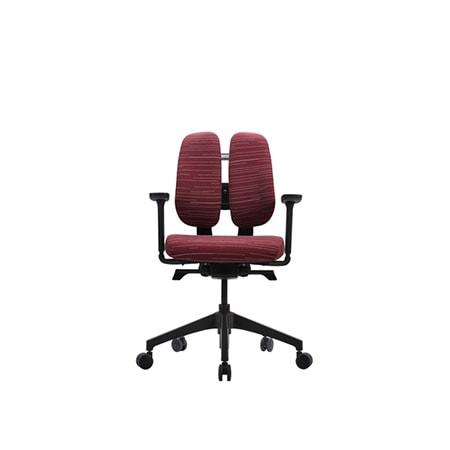 Ergonomisk kontorsstol utan nackstöd