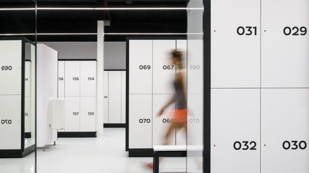 Omklädningsrum för Fitness - Atepaa®