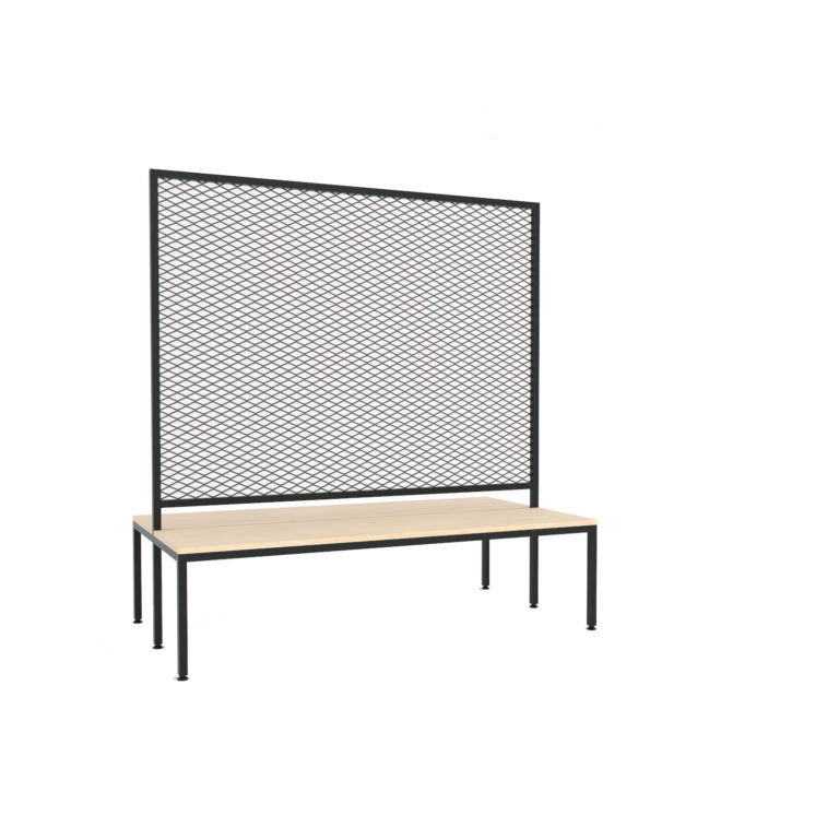 Basa Bench Double Partition 150